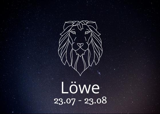Sternzeichen Löwe mit Geburtsdatum