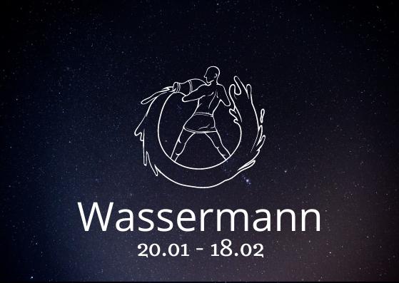 Sternzeichen Wassermann mit Geburtsdatum