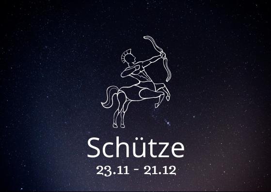 Sternzeichen Schütze mit Geburtsdatum
