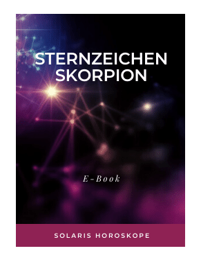 Cover E-Book Sternzeichen Skorpion