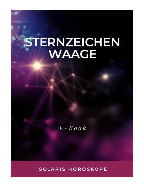 Cover E-Book Sternzeichen Waage