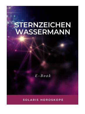 Cover E-Book Sternzeichen Wassermann
