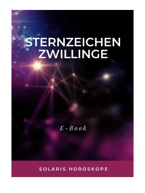 Cover E-Book Sternzeichen Zwillinge